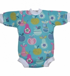 Splash About Baby neoprén body - vzor tutti frutti